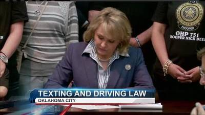 News video: Oklahoma Bans Texting While Driving